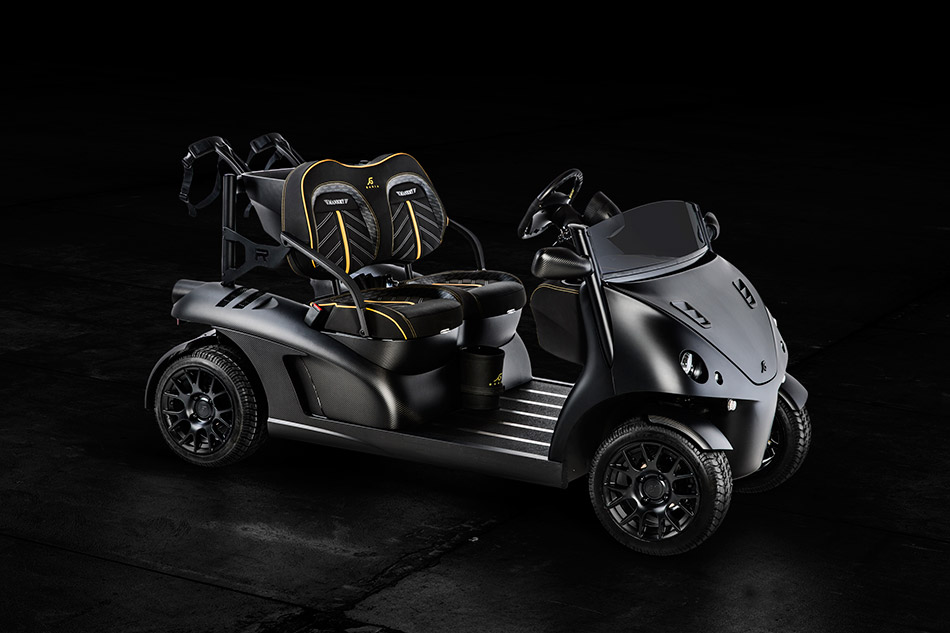 2013 Garia Mansory Currus Front Angle