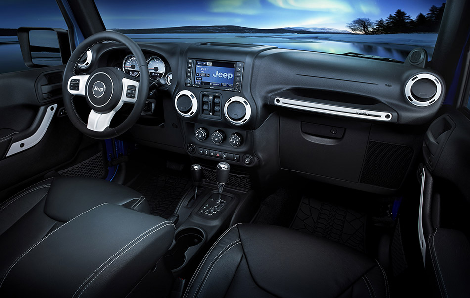 2013 Jeep Wrangler Polar Interior