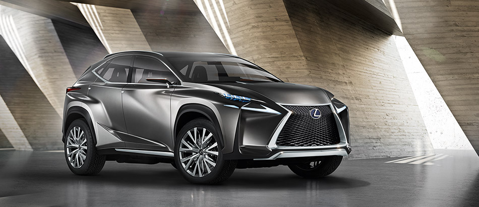 2013 Lexus LF-NX Crossover Concept Front Angle