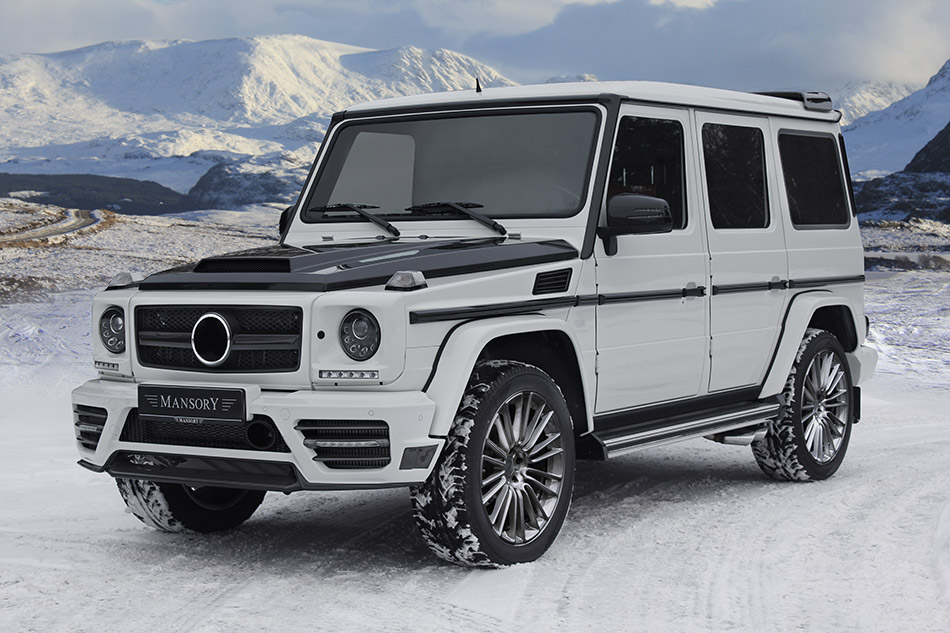 2013 MANSORY Mercedes-Benz G-class Front Angle