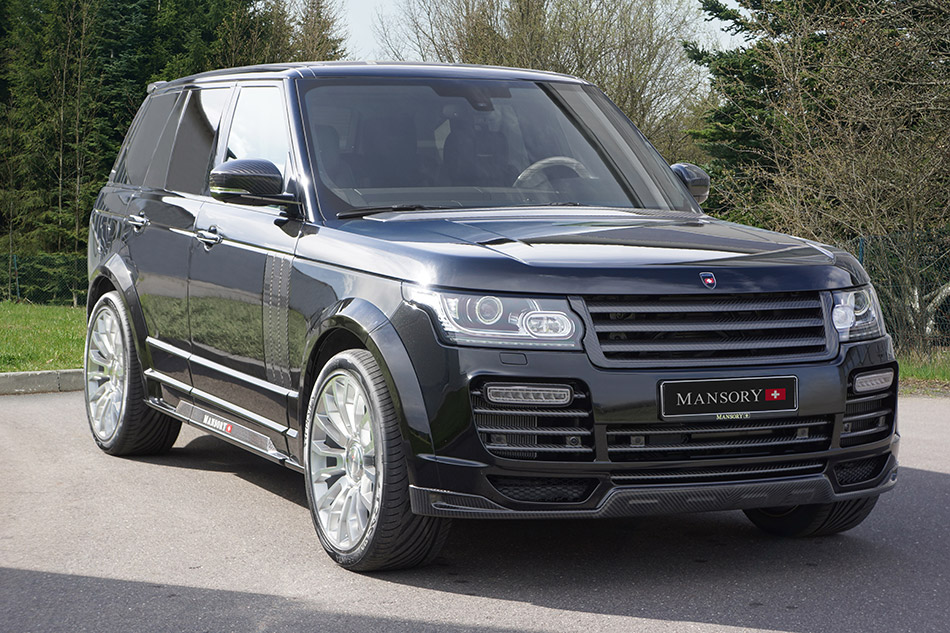 2013 MANSORY Range Rover Vogue Front Angle