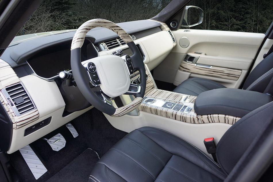 2013 MANSORY Range Rover Vogue Interior