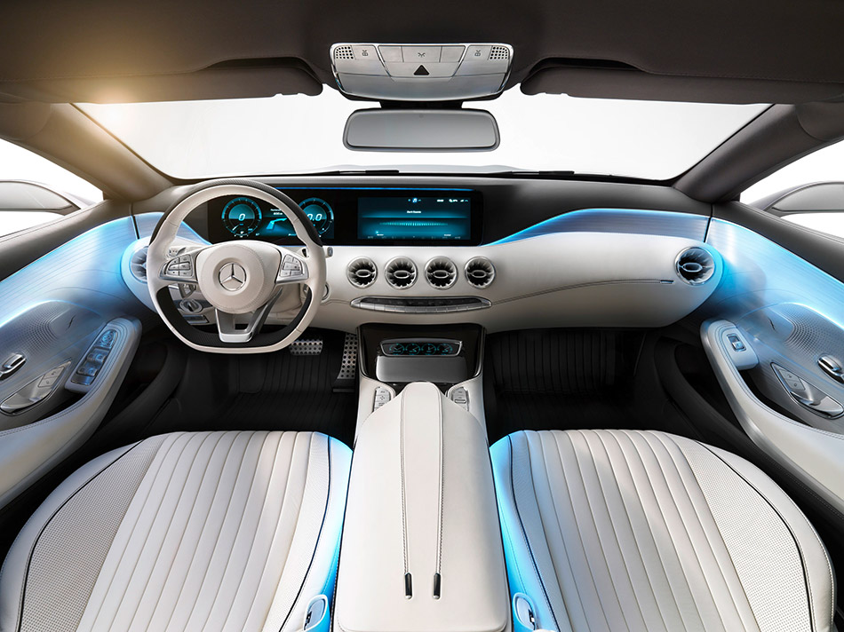 2013 Mercedes-Benz S-Class Coupe Concept Interior
