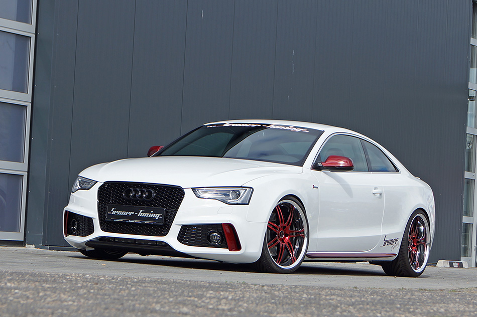 2013 Senner Tuning Audi S5 Coupe Front Angle