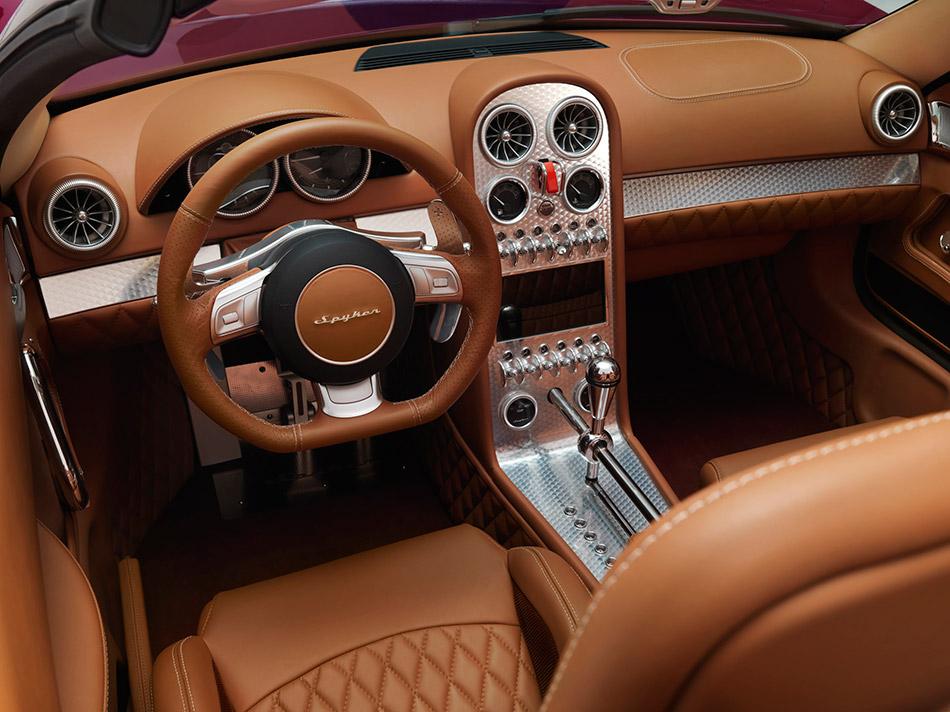 2013 Spyker B6 Venator Spyder Concept Interior