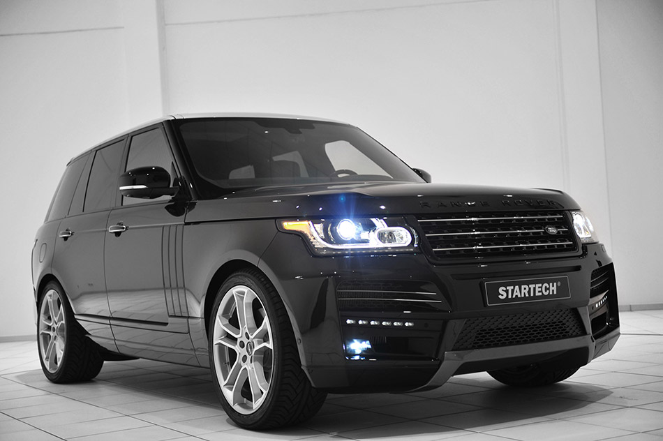 2013 Startech Range Rover Front Angle