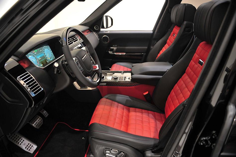 2013 Startech Range Rover Interior