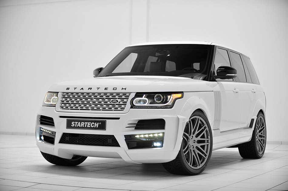 2013 Startech Widebody Range Rover Front Angle