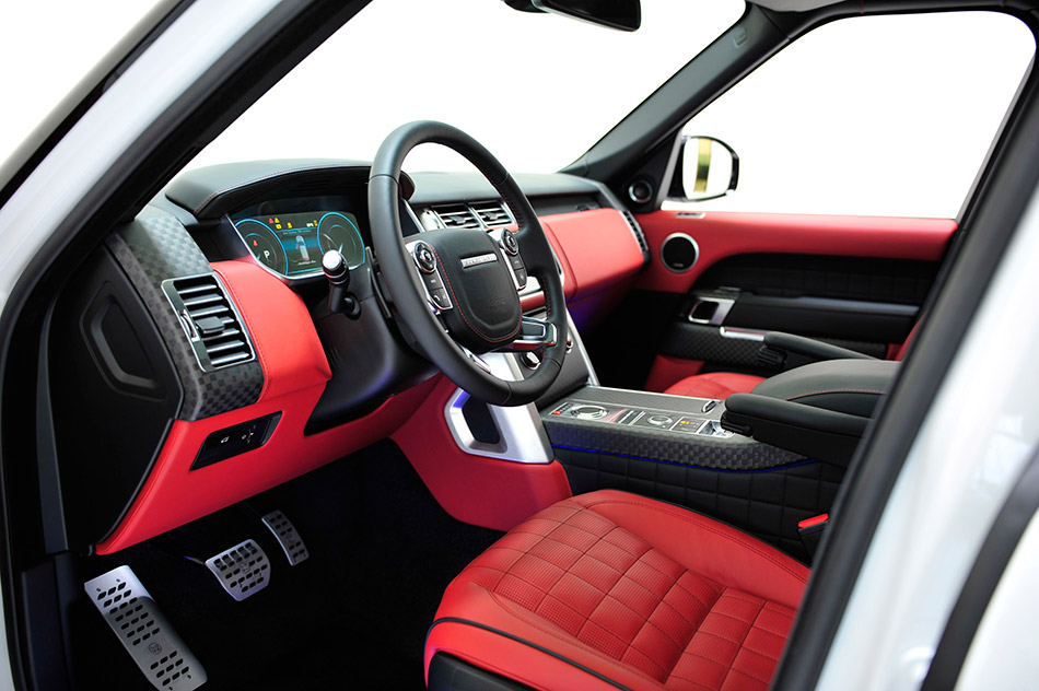 2013 Startech Widebody Range Rover Interior