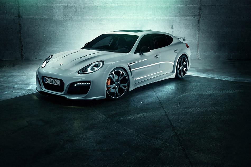 2013 Techart Grand GT Porsche Panamera Turbo Front Angle
