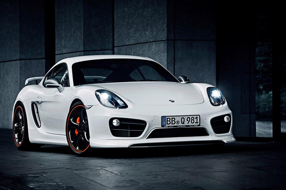 2013 Techart Porsche Cayman Front Angle