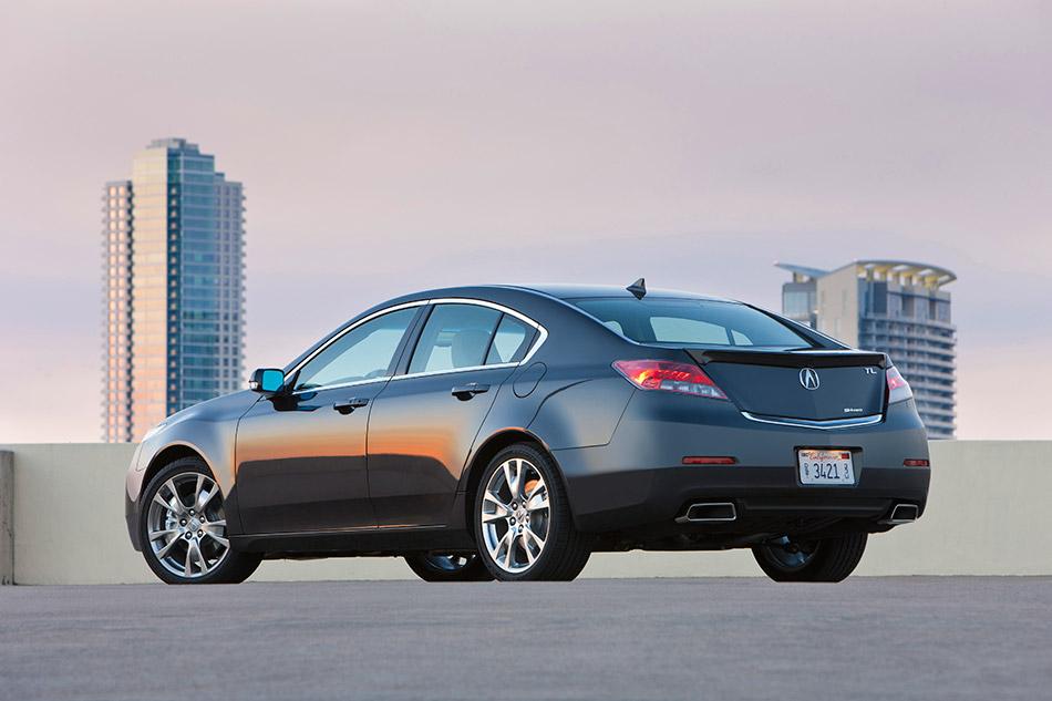 2014 Acura TL SH-AWD Rear Angle