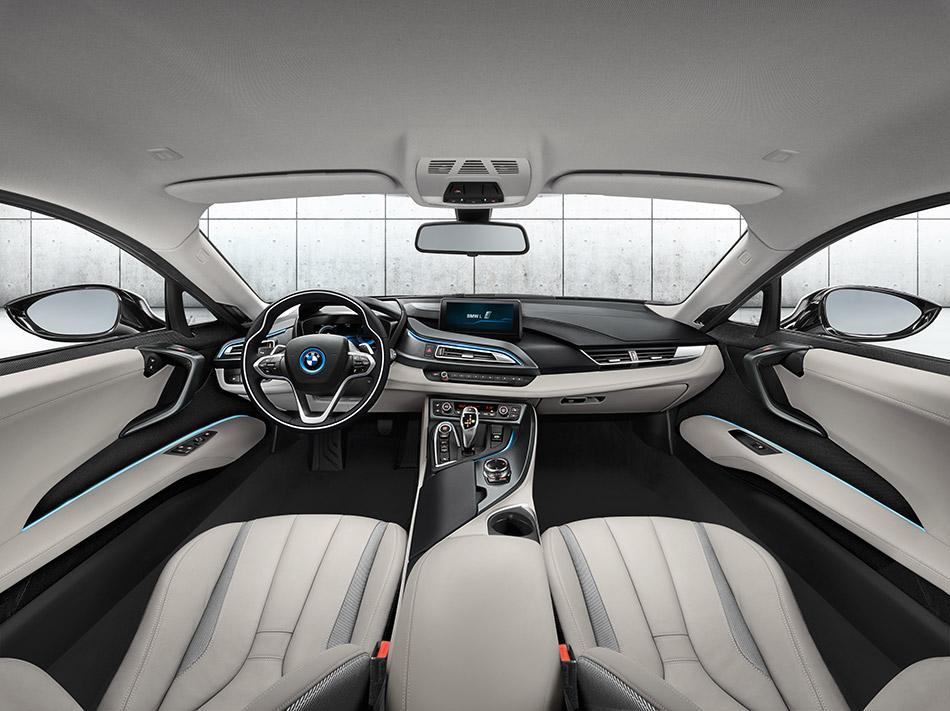 2014 BMW i8 Interior