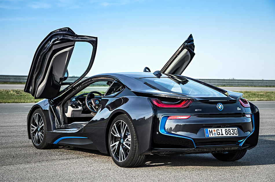 2014 BMW i8 Rear