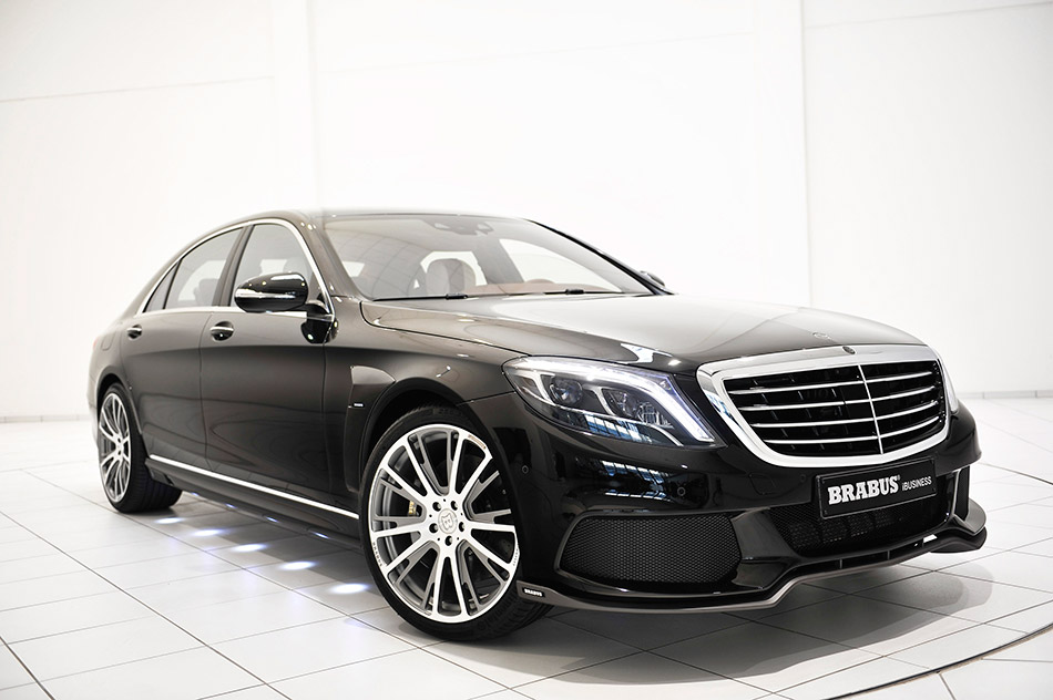 2014 Brabus 850 Biturbo iBusiness Mercedes-Benz S-Class Front Angle