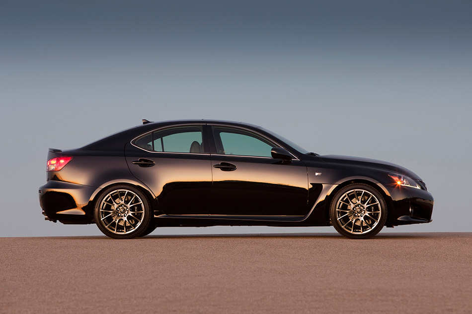 2014 Lexus IS F Front Angle