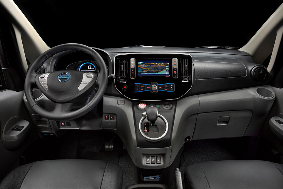 2014 Nissan Electric Taxi Interior