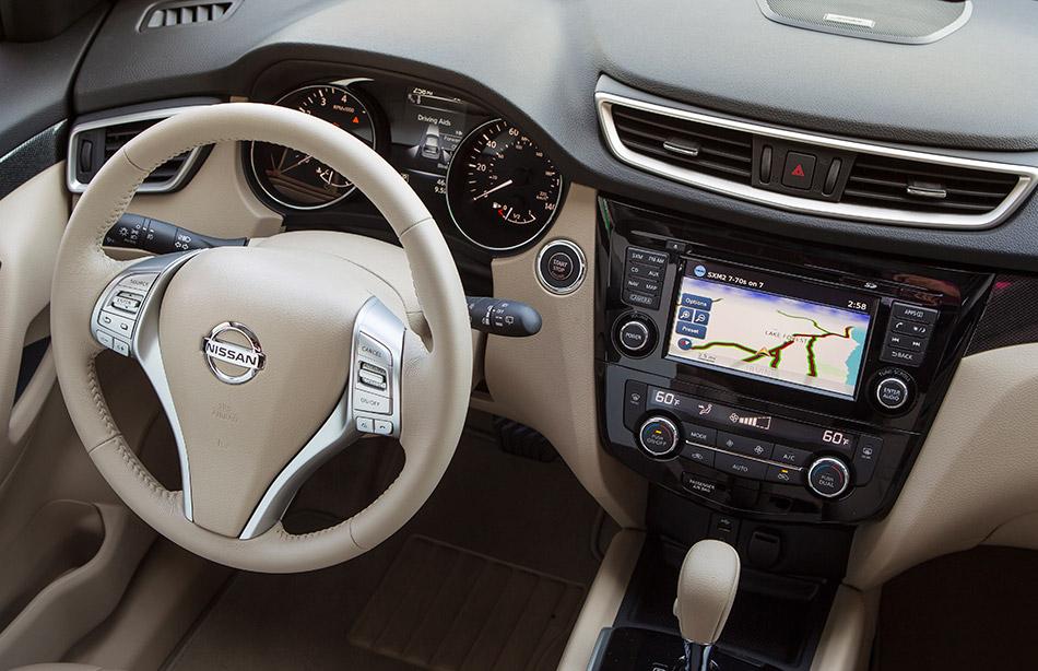 2014 Nissan Rogue Interior