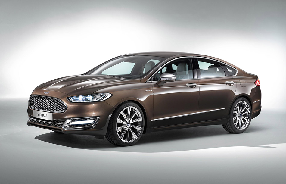 2015 Ford Mondeo Vignale Concept Front Angle