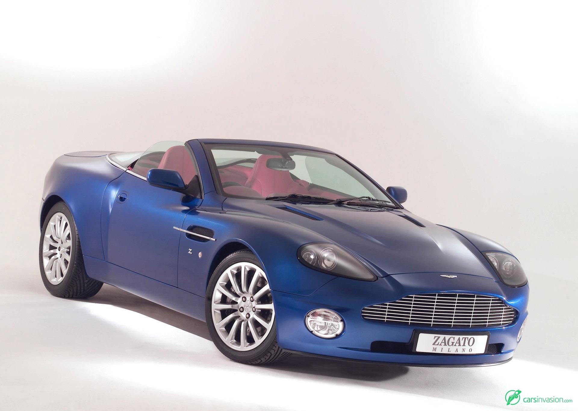 Zagato Aston Martin Vanquish Roadster HD Pictures - 2004 aston martin vanquish