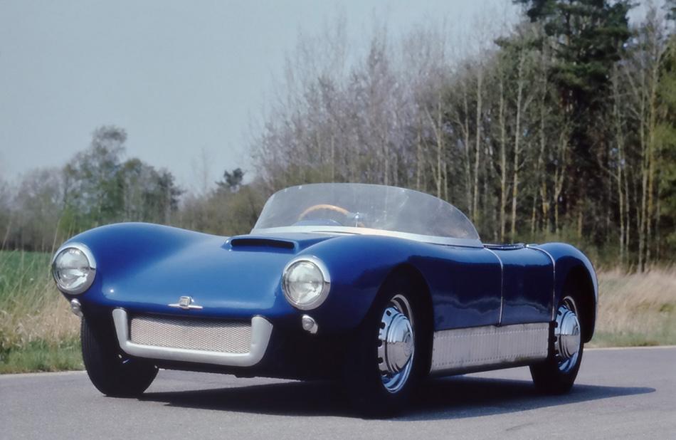 1956 Saab Sonett I Front Angle