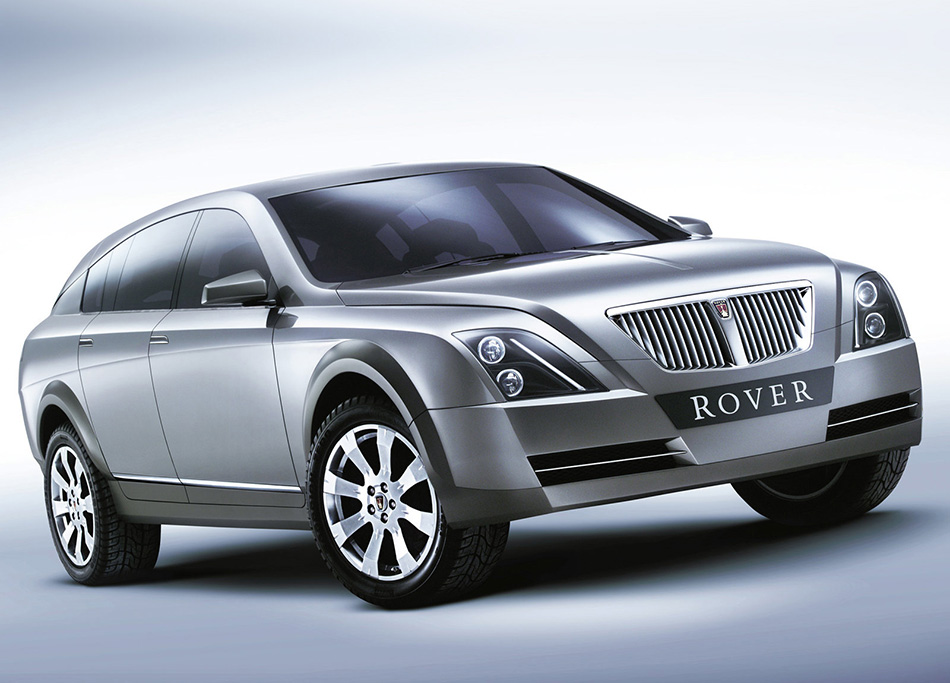 2002 Rover TCV Concept Front Angle