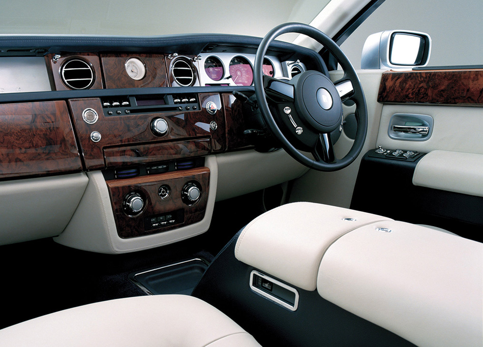 2003 Rolls-Royce Phantom Interior