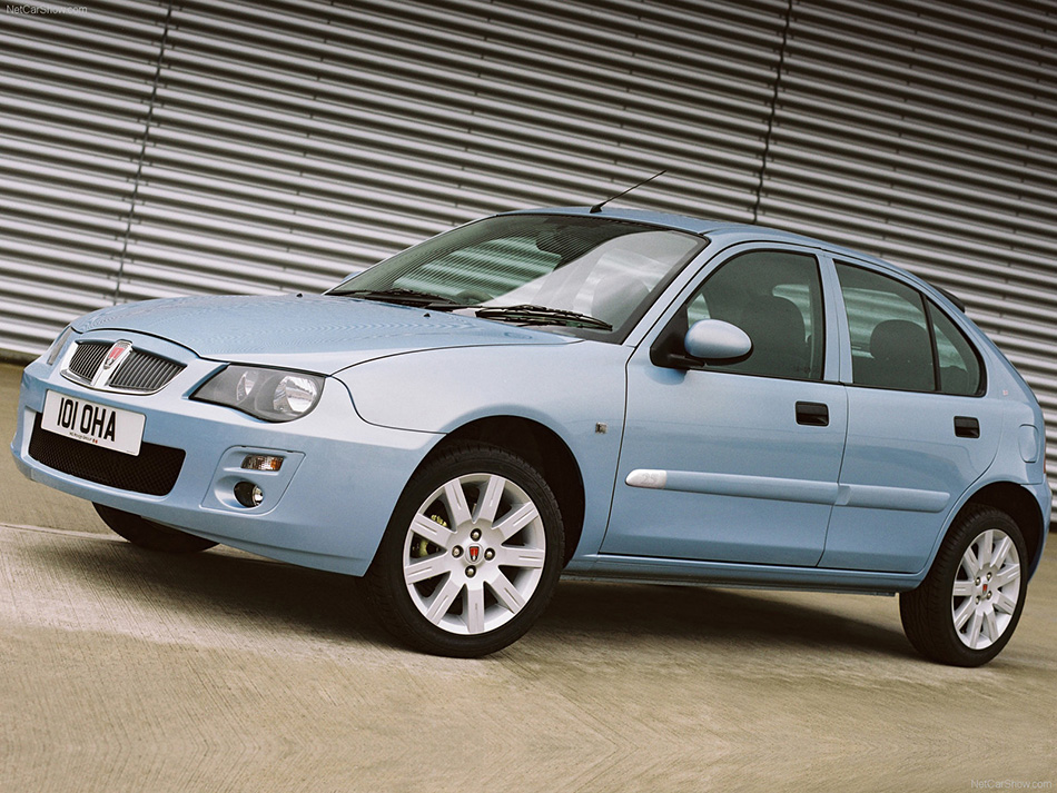 2004 Rover 25 Front Angle