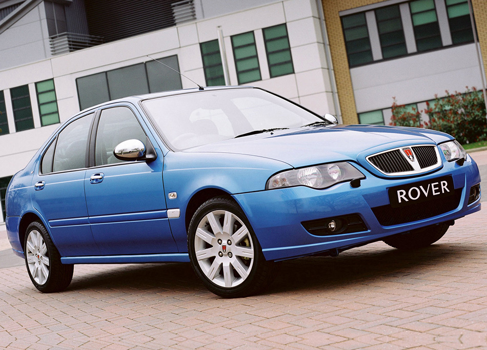 2004 Rover 45 Front Angle