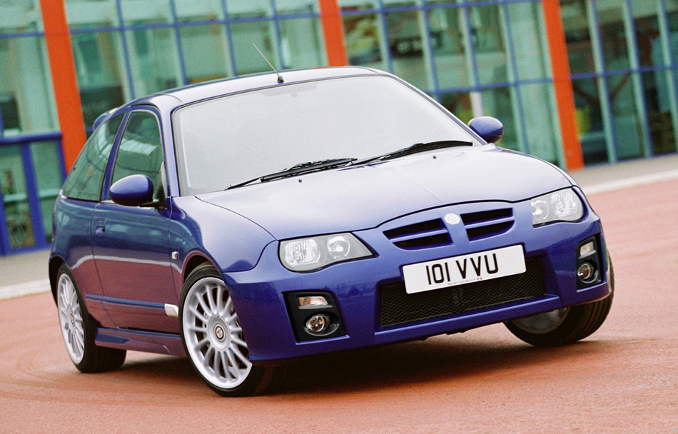 2004 Rover MG ZR Front Angle