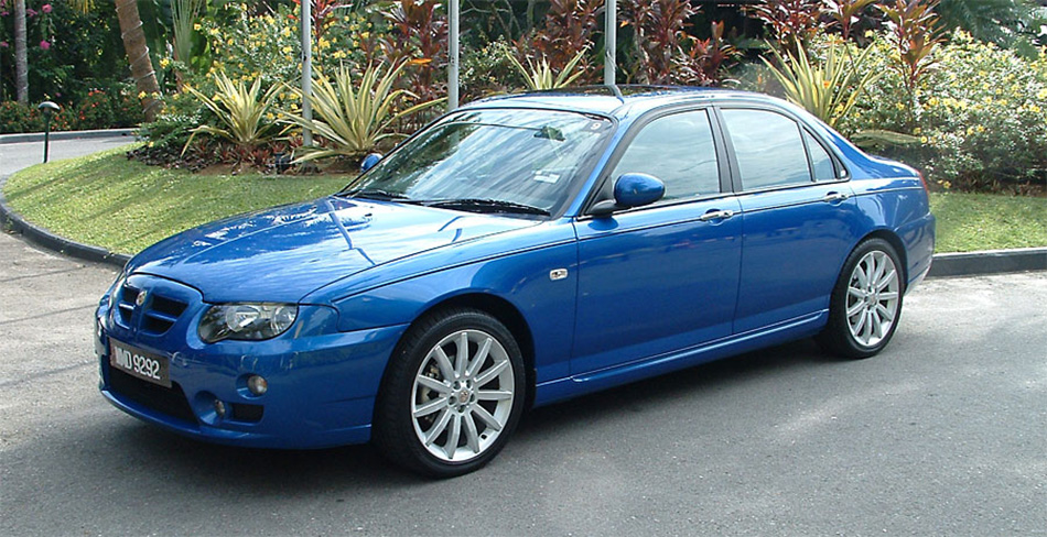 2005 Rover MG ZT Front Angle