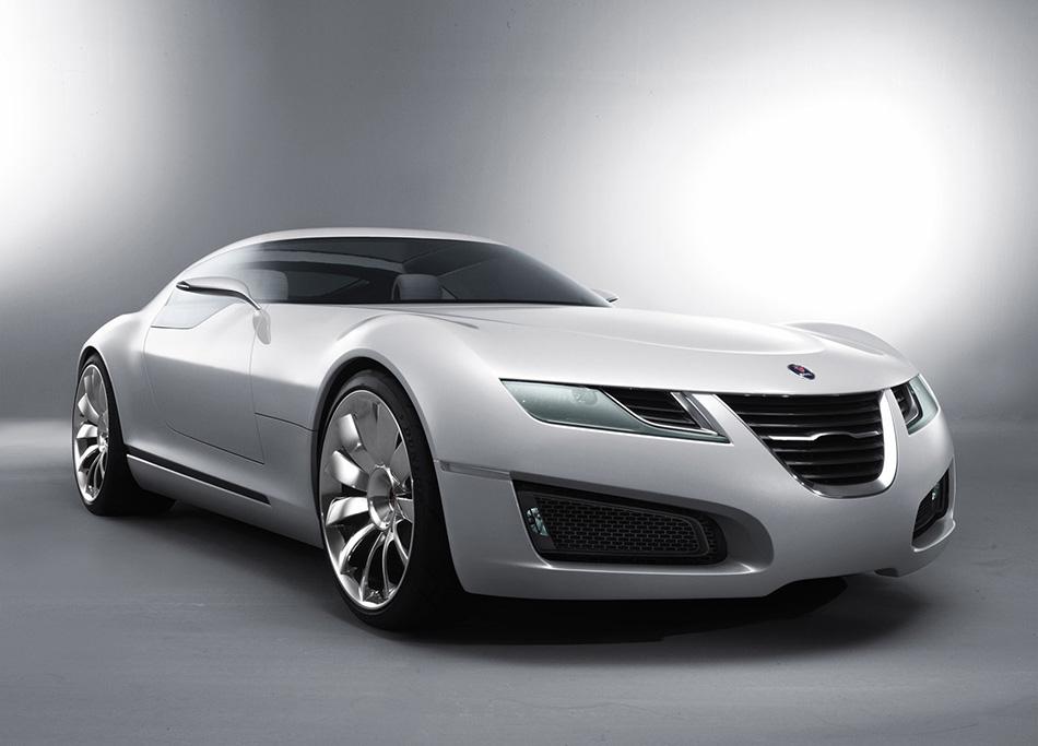2006 Saab Aero X Concept Front Angle