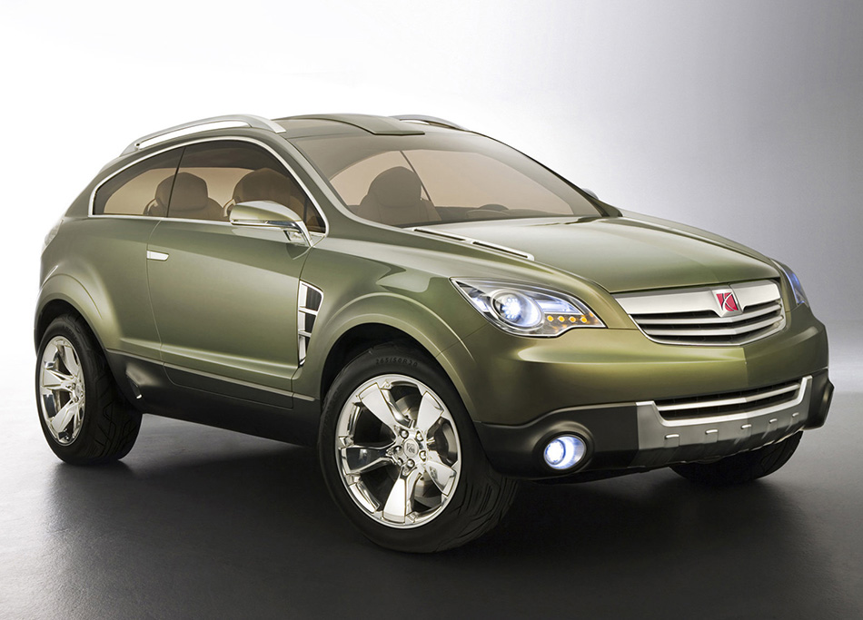 2006 Saturn PreVue Concept Front Angle