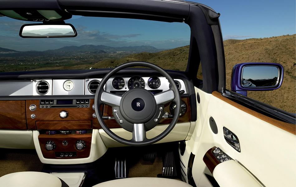 2008 Rolls-Royce Phantom Drophead Coupe Interior