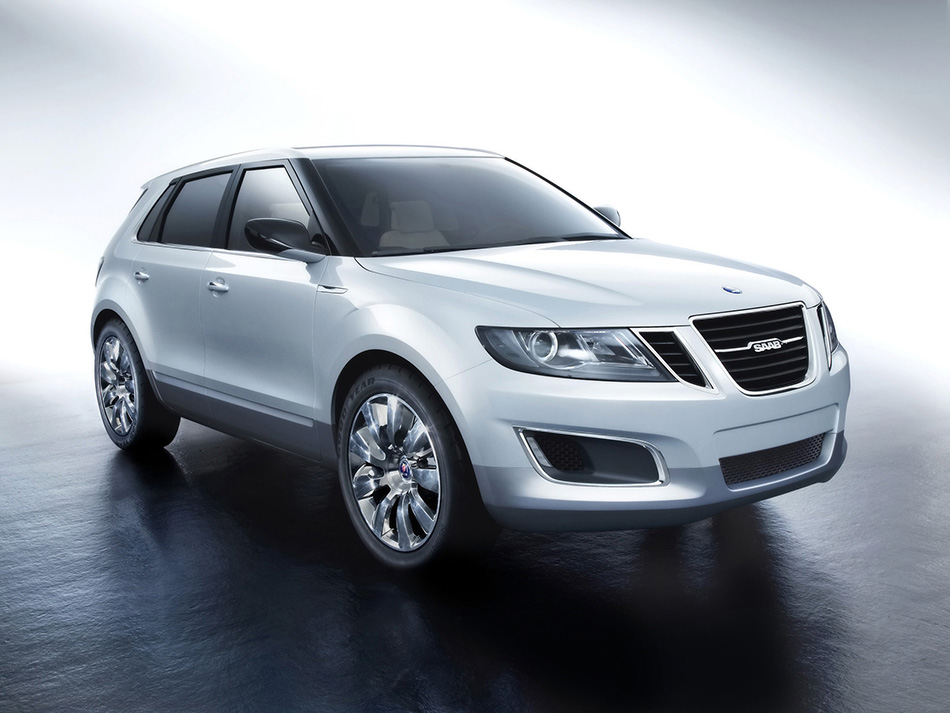 2008 Saab 9-4X BioPower Concept Front Angle