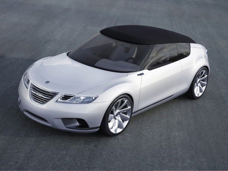 2008 Saab 9-X Air Concept Front Angle