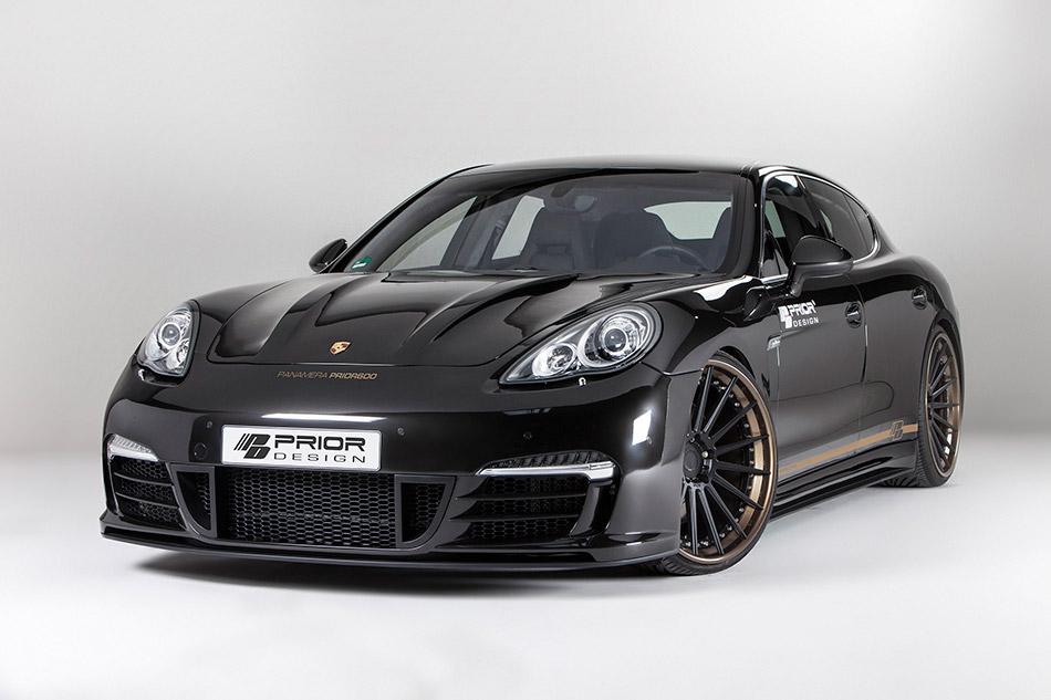 2013 Prior-Design Porsche Panamera PRIOR600 Front Angle