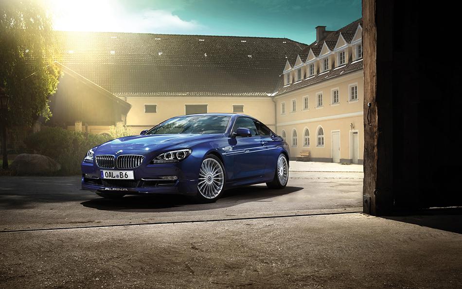 2013 Alpina BMW B6 Biturbo Front Angle