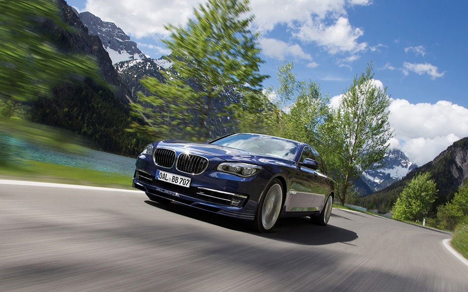 2013 Alpina BMW B7 Biturbo Front Angle