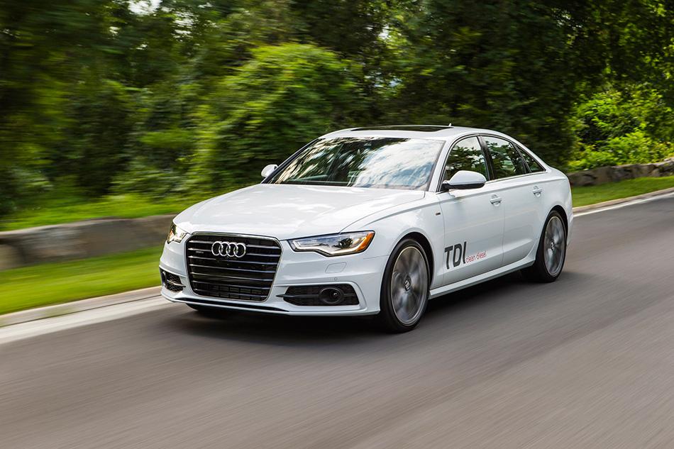 2014 Audi A6 TDI Front Angle