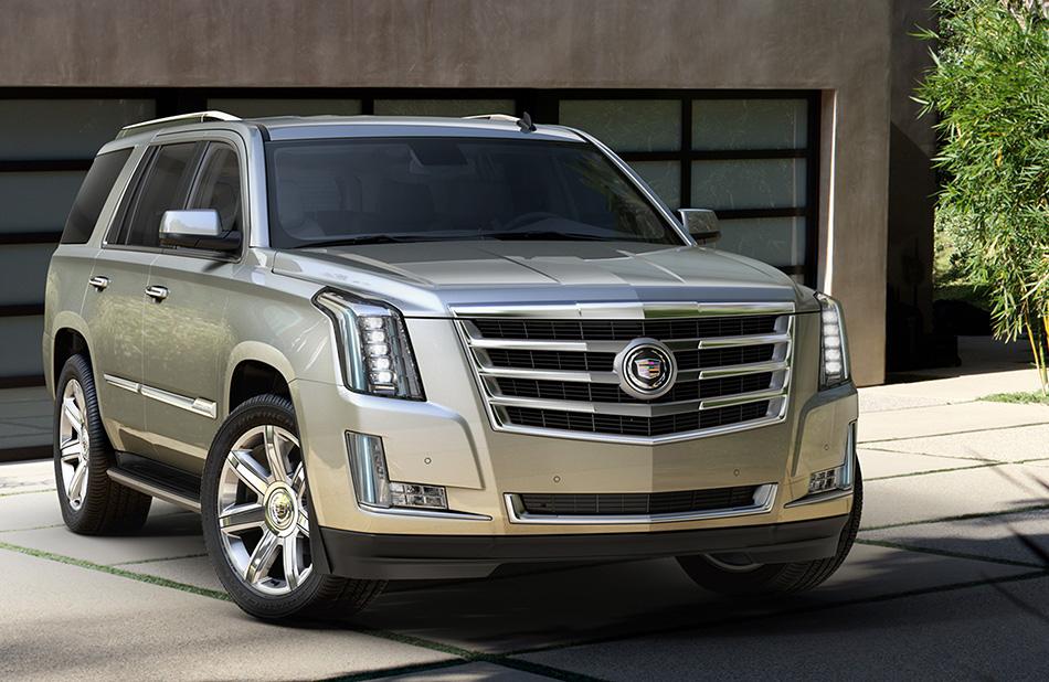2015 Cadillac Escalade Front Angle
