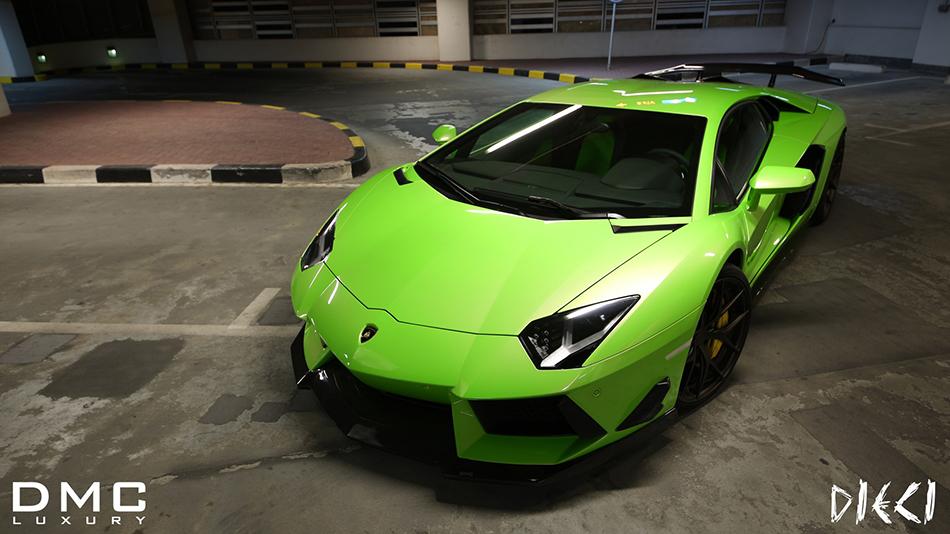 2013 DMC Luxury Lamborghini Aventador DIECI Front Angle