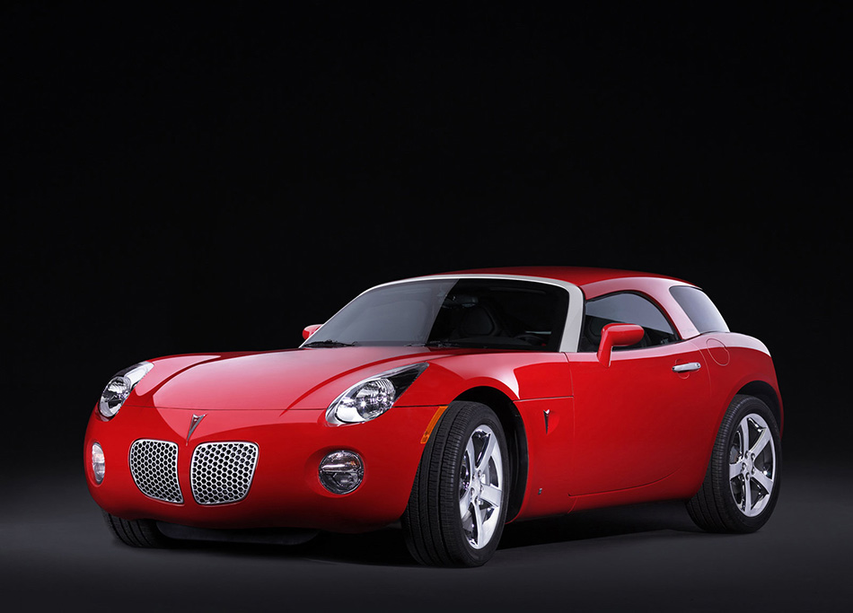 2006 EDAG Pontiac Solstice Hard Top Concept Front Angle