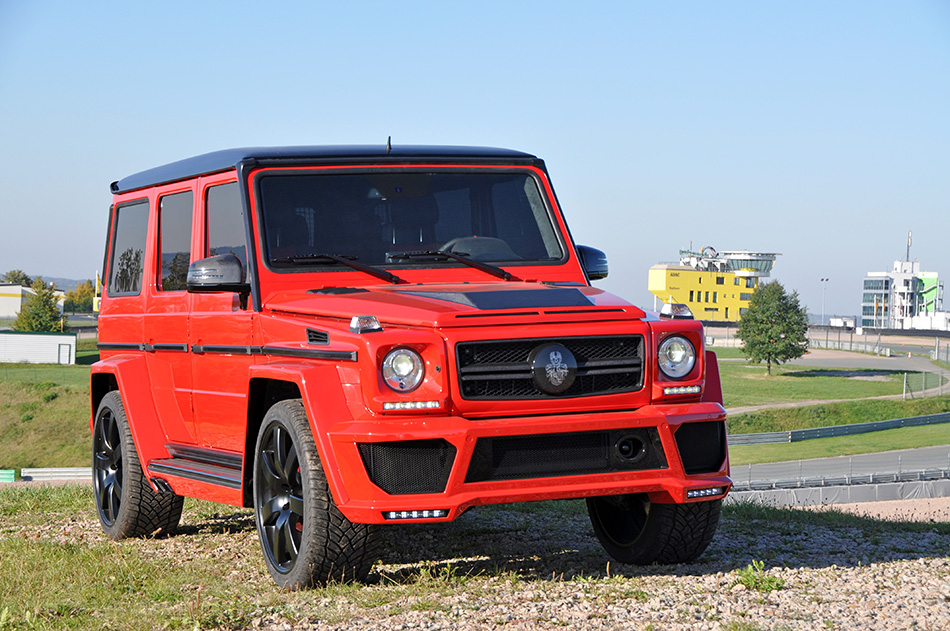 2013 German Special Customs Mercedes-Benz G63 AMG Front Angle