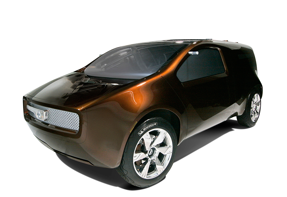 2007 Nissan Bevel Concept Front Angle