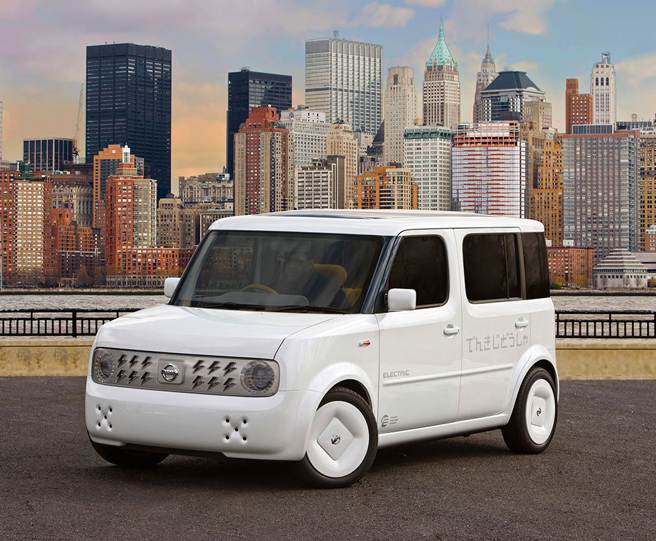 2008 Nissan Denki Cube Concept Front Angle