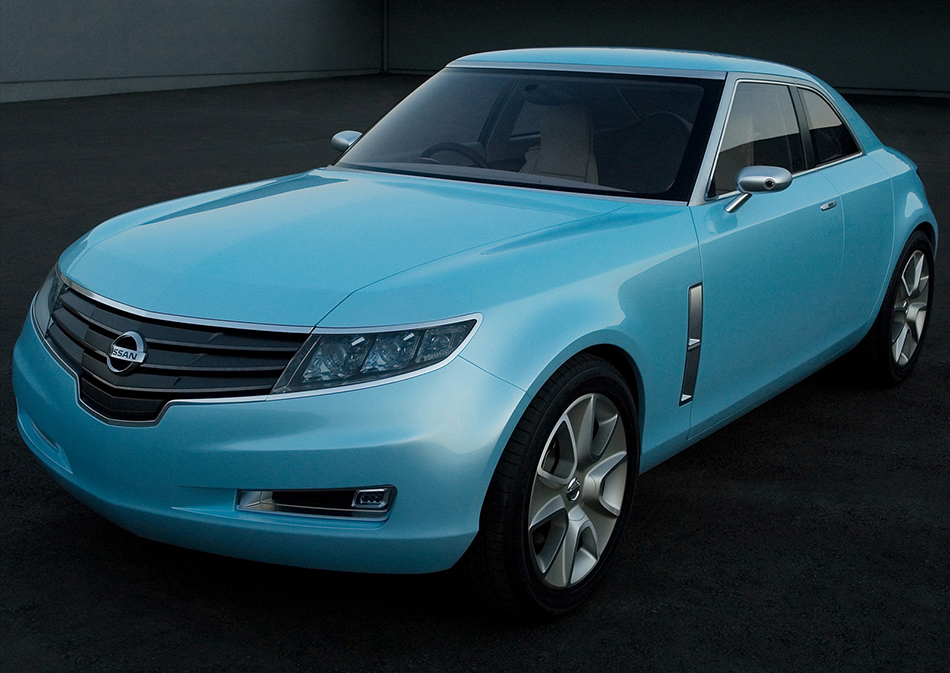 2005 Nissan Foria Concept Front Angle