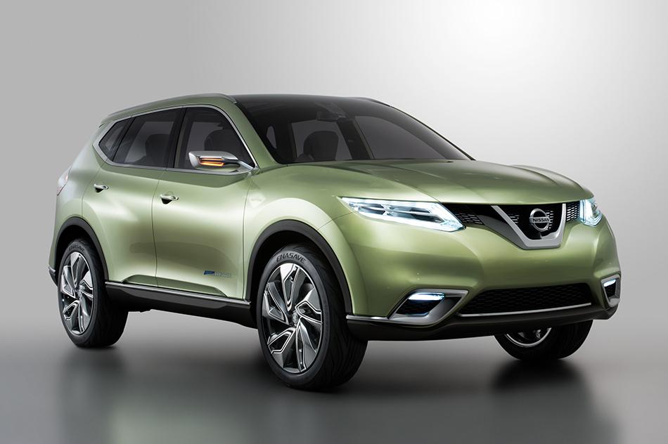 2012 Nissan Hi-Cross Concept Front Angle