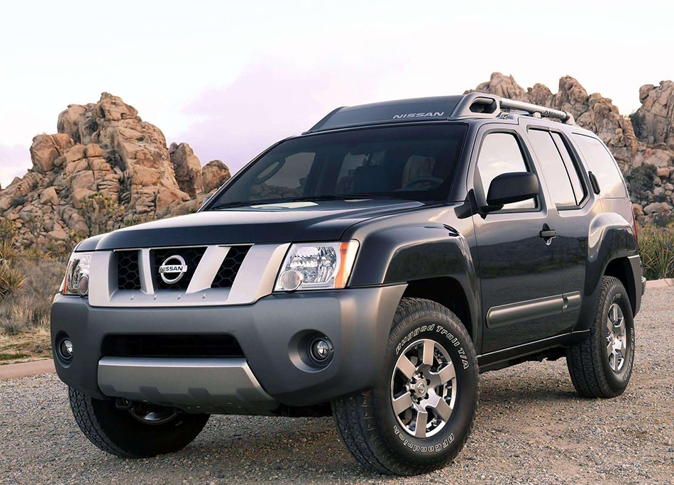 2005 Nissan Xterra Front Angle
