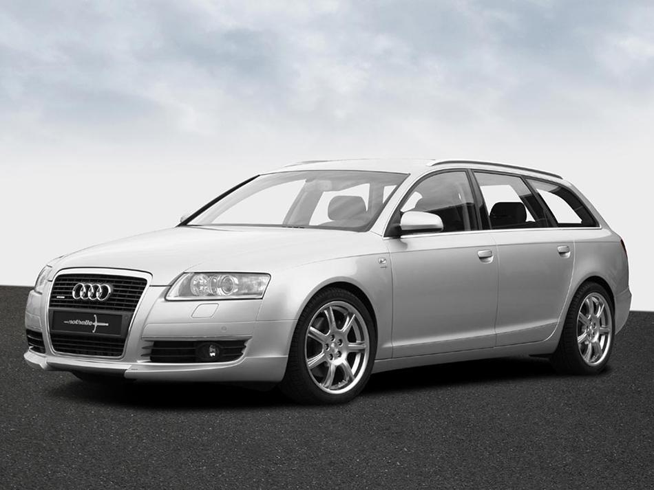 2005 Nothelle Audi A6 Avant 3.0 V6 TDI Front Angle